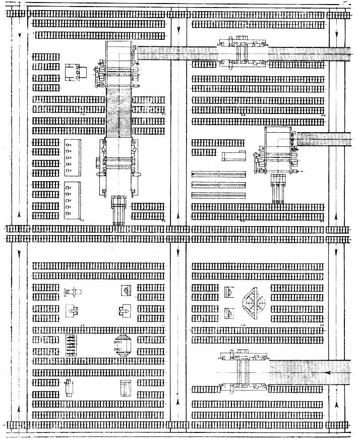 Схема планировки части участка